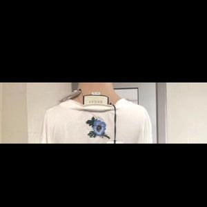 Gucci Tops - Gucci distress shirt  100% aut Small with receipt